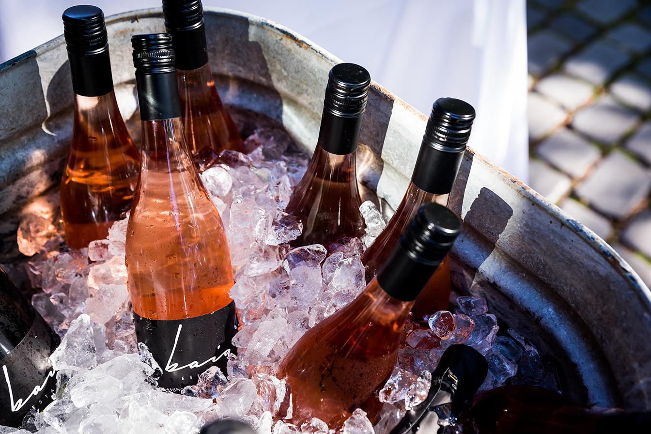 Baia Wines on ice